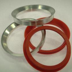 4 Zentrierringe 74,1 mm 66,6 mm